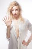 Beautiful blonde Stock Photography