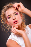 Beautiful blonde woman Royalty Free Stock Image