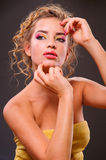 Beautiful blonde woman Royalty Free Stock Photos