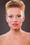 Beautiful blonde woman Royalty Free Stock Photography