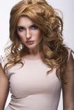 Beautiful blonde woman Stock Image
