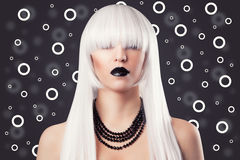 Beautiful blonde woman Royalty Free Stock Image