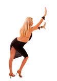 Beautiful blonde woman posing Royalty Free Stock Photos