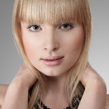 Beautiful blonde young woman Royalty Free Stock Photo