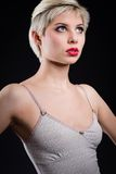 Beautiful blonde young woman portrait Royalty Free Stock Photos