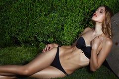 Beautiful Blondie Girl Stock Photo
