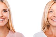 Beautiful blonds. Stock Photos