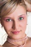 Beautiful blondy Stock Photography