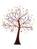 Beautiful blooming spring tree Royalty Free Stock Image