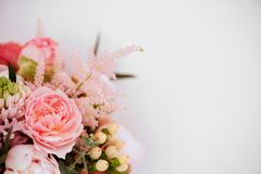Beautiful blossoming flowers. royalty free stock photos