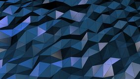 Beautiful Blue Abstract Motion Background, Seamless Looping, Colorful stock footage