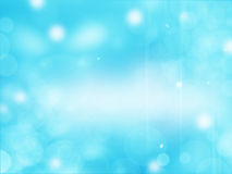 Beautiful blue background with some blurred lights on it.  Royalty Free Stock Images