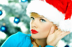 Beautiful Blue Christmas Stock Images