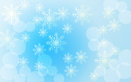 Beautiful blue christmas background Royalty Free Stock Images