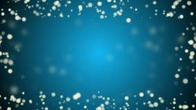 Beautiful blue christmas  background stock video