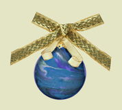 Beautiful Blue Christmas Ornament Stock Photos
