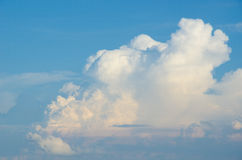 The Beautiful blue cloud Sky colors. The Beautiful blue cloud Sky Royalty Free Stock Images