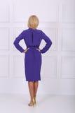 Beautiful blue dress Royalty Free Stock Photo