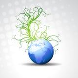 Beautiful  blue earth Stock Image
