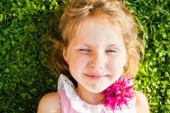 Beautiful blue-eyed blonde Royalty Free Stock Photo