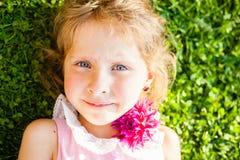 Beautiful blue-eyed blonde Royalty Free Stock Images