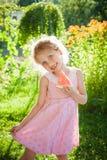 Beautiful blue-eyed blonde Royalty Free Stock Image