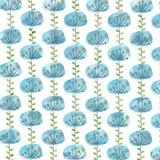 Beautiful blue flower background Stock Photo