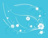 Beautiful blue flowerses Stock Photo