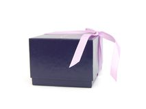Beautiful Blue gift Stock Photography