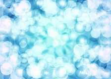 Beautiful blue grey tones glittering lens festive background. Royalty Free Stock Photo