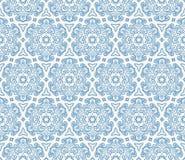 Beautiful blue hexagonal pattern Stock Photos