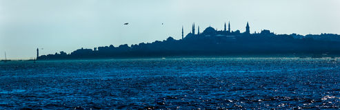 Beautiful blue Istanbul Stock Photography