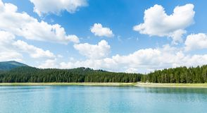 Beautiful blue lake in National Park Royalty Free Stock Images