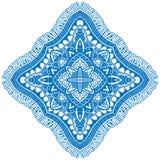 Beautiful blue mandala. Stock Photography