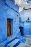 Beautiful blue medina of Chefchaouen in Morocco Stock Photo