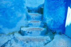Beautiful blue medina of Chefchaouen, Morocco Royalty Free Stock Photos