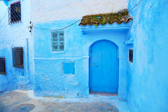 Beautiful blue medina of Chefchaouen, Morocco Royalty Free Stock Photo