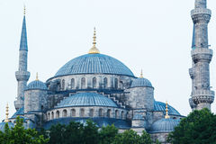 Beautiful Blue Mosque Royalty Free Stock Photos
