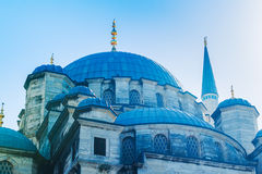 Beautiful Blue Mosque Royalty Free Stock Photography
