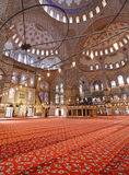 The beautiful Blue Mosque in Istanbul Stock Photography