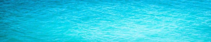 Bright Blue Ocean Water stock image