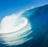 Beautiful Blue Ocean Wave Royalty Free Stock Image