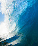 Beautiful Blue Ocean Wave Royalty Free Stock Photography