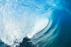Beautiful Blue Ocean Wave Royalty Free Stock Images