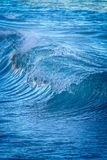 Beautiful Blue Ocean Wave in Costa Brava coastal in Spain Royalty Free Stock Photo