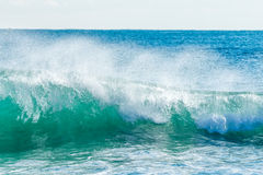 Beautiful Blue Ocean Wave Royalty Free Stock Photo