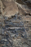 Beautiful blue pink natural stone in Gran Canaria Royalty Free Stock Image