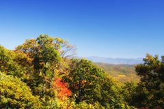 Beautiful Blue Ridge Mountains Royalty Free Stock Photography