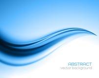 Beautiful Blue Satin. Drapery Background Royalty Free Stock Image