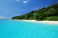 Beautiful blue sea ,blue sky from tachai island Stock Photo